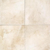 Portenza Bianco Ghiaccio 14 in. x 14 in. Glazed Porcelain Floor and Wall Tile (13.13 sq. ft. / case)