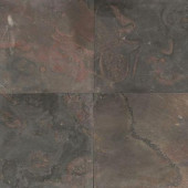 Natural Stone Collection Indian Multicolor 16 in. x 16 in. Slate Floor and Wall Tile (10.68 sq. ft. / case)