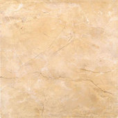 Assiria Marfim 13 in. x 13 in. Glazed Ceramic Floor & Wall Tile (11.30 sq. ft./Case)-DISCONTINUED