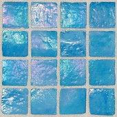 Egyptian Glass Caspian 12 in. x 12 in. x 6 mm Glass Face-Mounted Mosaic Wall Tile