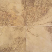 Aspen Lodge Golden Ridge 18 in. x 18 in. Porcelain Floor and Wall Tile (15.28 sq. ft. / case)-DISCONTINUED