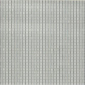 12.8 in. x 12.8 in. Venice Winter White Glossy Glass Tile-DISCONTINUED