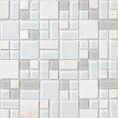 No Ka 'Oi Kapalua-Ka420 Stone And Glass Blend 12 in. x 12 in. Mesh Mounted Floor & Wall Tile (5 sq. ft.)
