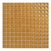 Maracas Evening Sun 12 in. x 12 in. 8mm Glass Mesh-Mounted Mosaic Wall Tile (10 sq. ft. / case)-DISCONTINUED