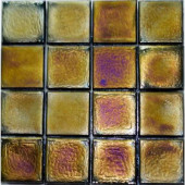 Edgewater Dusk Glass Mosaic & Wall Tile - 5 in. x 5 in. Tile Sample-DISCONTINUED