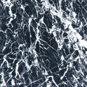 Nero Marquina 12 in. x 12 in. Polished Marble Floor and Wall Tile (5 sq. ft. / case)