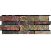 Stratford 12 in. x 4 in. Multicolor Porcelain Border Floor and Wall Tile-DISCONTINUED