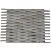 3D Reflex Crema Marfil 12 in. x 12 in. x 8 mm Stone Floor and Wall Tile