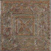 Craterlake Bamboo 6 in. x 6 in. Glazed Porcelain Insert Corner Floor & Wall Tile-DISCONTINUED