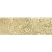 Fantesa Cameo 3 in. x 12 in. Glazed Porcelain Bullnose Floor and Wall Tile