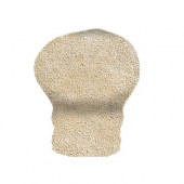 Sanford Sand 1 in. x 2 in. V-Cap Corner in Ceramic Wall Tile (4 pieces / case)-DISCONTINUED
