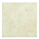 Brazos Cream 12 in. x 12 in. Ceramic Floor and Wall Tile (15.49 sq. ft. / case)-DISCONTINUED