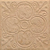 Sanford Leather 6-1/2 in. x 6-1/2 in. Decorative Porcelain Floor and Wall Tile (12 pieces / case)