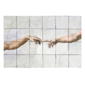 The Fall 36 in. x 24 in. Tumbled Marble Tiles (6 sq. ft. /case)