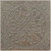 Ridgeway Russet 6-1/2 in. x 6-1/2 in. Porcelain Decorative Floor and Wall Tile (3.52 sq. ft. / case)