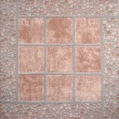 Firenze Rosso 16 in. x 16 in. Glazed Ceramic Floor & Wall Tile-DISCONTINUED