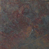 Stratford Graphite 12 in. x 12 in. Glazed Porcelain Floor Tile