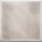 4 in. x 4 in. Cast Metal Field Brushed Nickel Tile (8 pieces / case) - Discontinued