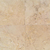 Natural Stone Collection Sahara Beige 12 in. x 12 in. Marble Floor and Wall Tile (10 sq. ft. / case)