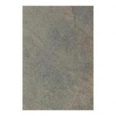 Continental Slate Brazilian Green 12 in. x 18 in. Porcelain Floor and Wall Tile (13.5 sq. ft. / case)