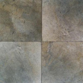 Portenza Verde Lago 14 in. x 14 in. Glazed Porcelain Floor and Wall Tile (13.13 sq. ft. / case)