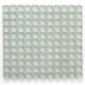 Pillow Glass Opalescent 12 In. x 12 In. x 9.5 mm Glass Mosaic Wall Tile (10 sq. ft. / Case)